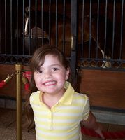 Sydney and a big horsie