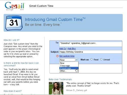 Custom Time