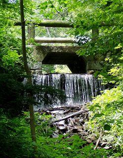 Fells Waterfall Bridge